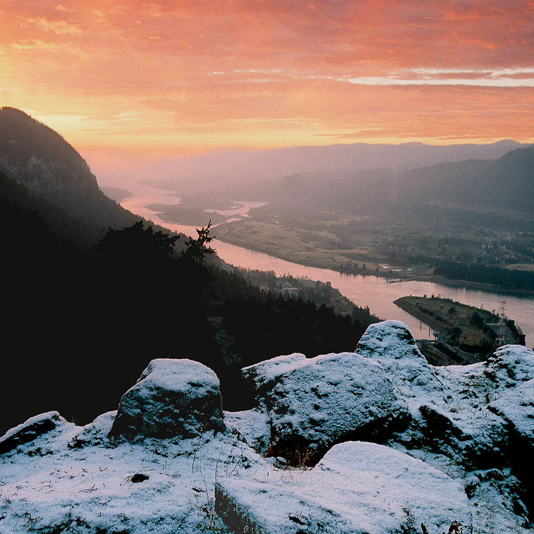 Red Sky, Columbia River Gorge