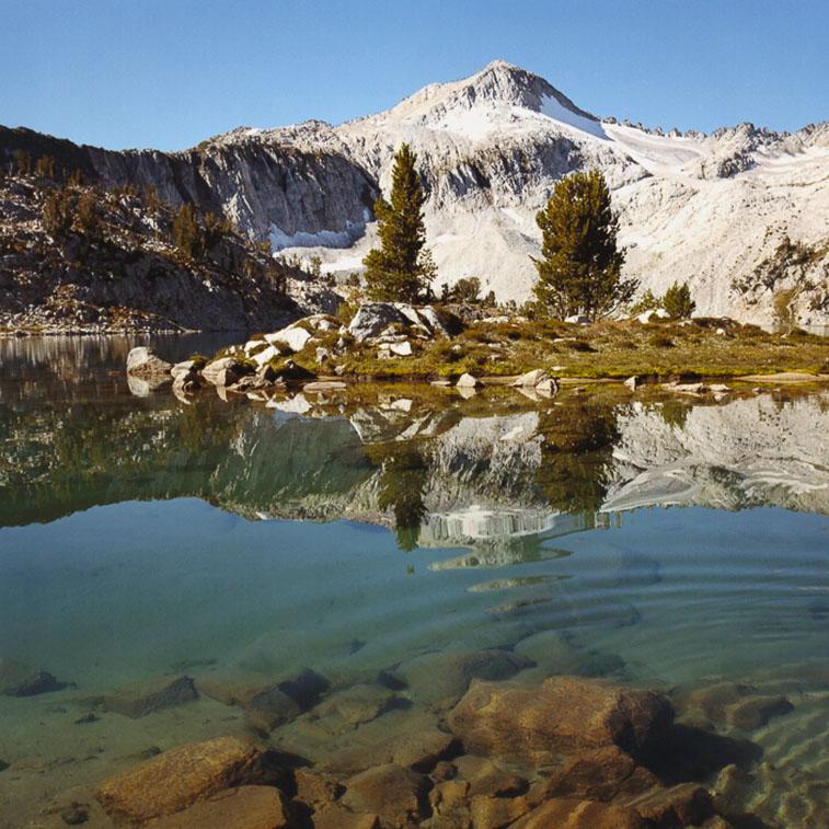 Glacier Lake and Glacier Peak, Eagle Cap Wilderness