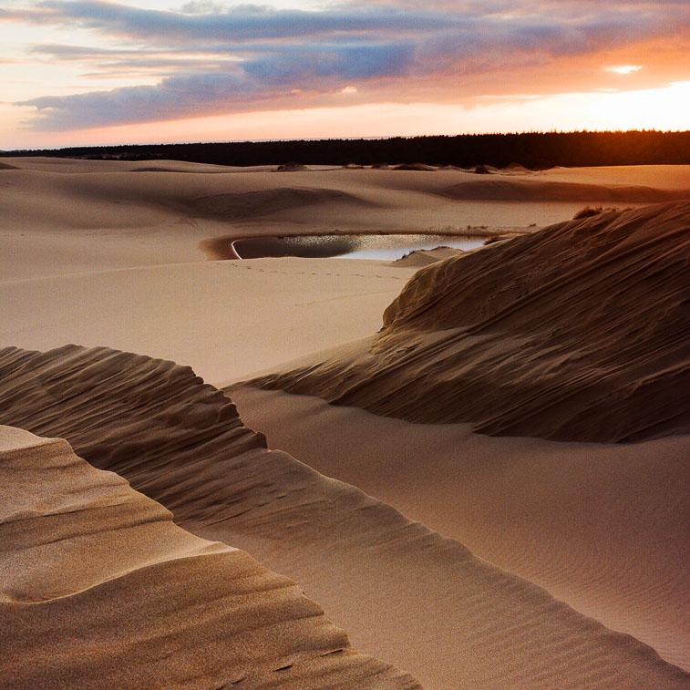 Umpqua Dunes Sunset