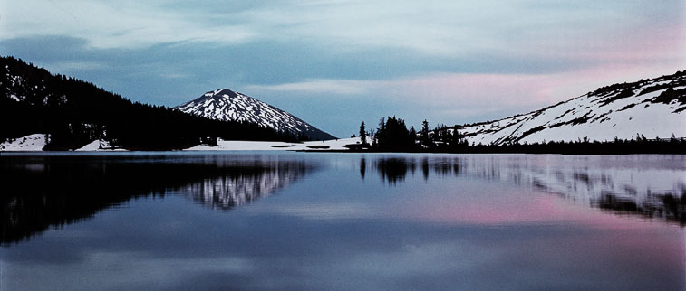 Mount Bachelor and Green Lake #2