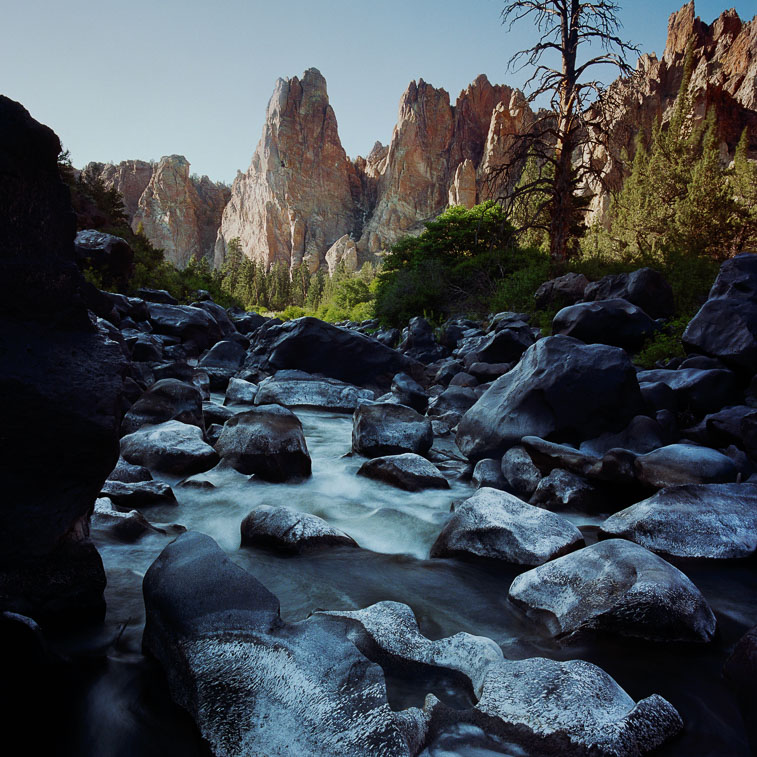 Boulders, Crooked River, Smith Rock