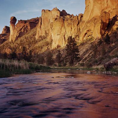 Oregon Desert and Cascade Mountains